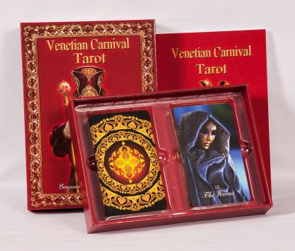 tarot deck for sale Venetian Carnival Tarot by Roxana Paul