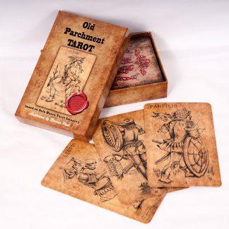 old parchment tarot sola busca tarot