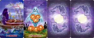 Halloween Magick tarot by Roxana Paul