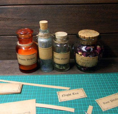 free apothecary labels